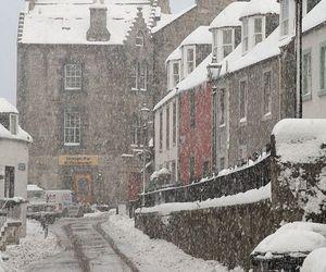 snow, winter, and scotland image