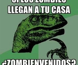 welcome and zombie image