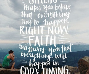 faith, quote, and stress image