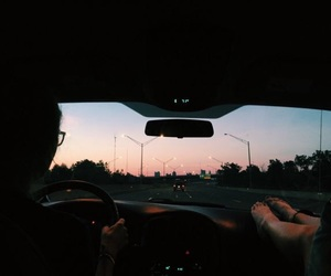 aesthetic, artsy, and driving image