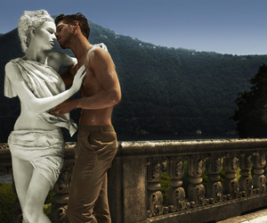 amazing, statue, and love image