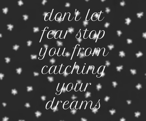 dreams, easel, and quotes image