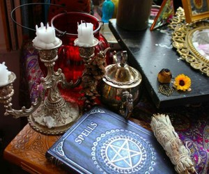 witchcraft and witch image