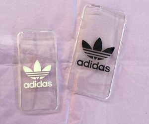 adidas, iphone, and black image