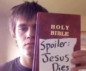 jesus, bible, and spoiler image