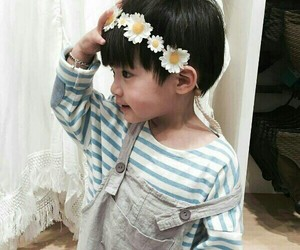 baby and korean image