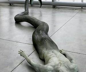 mermaid, art, and sculpture image