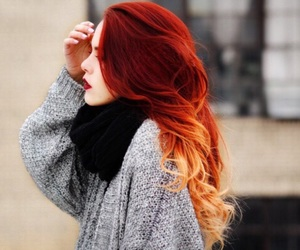 hair, perfecthair, and cabello rojo image