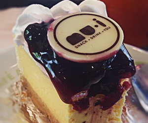 blueberry, cake, and cheesecake image