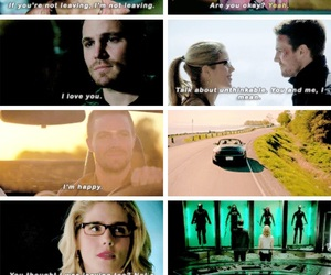 arrow, cw, and otp image