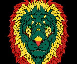 lion, rasta, and león image