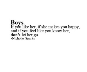 boy, quote, and nicholas sparks image