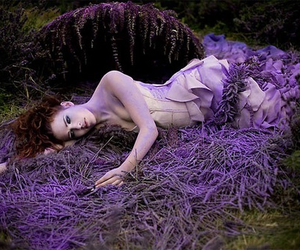 dead, magic, and flowers image