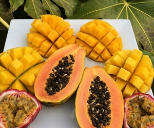 fruit, mango, and food image
