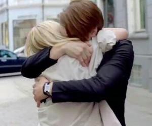 couple, noora, and hug image
