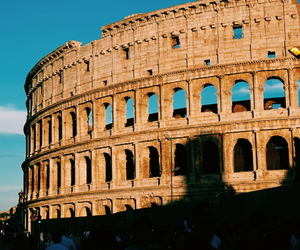 colosseum, italy, and rome image