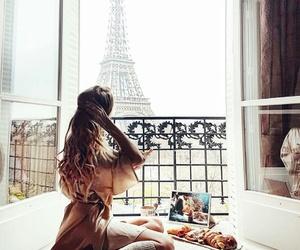 girl and paris image