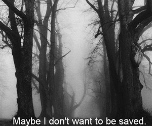 sad, saved, and depressed image