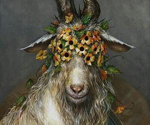 art, sheep art, and esao andrews art image