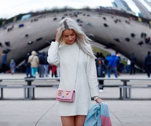 blogger, clothing, and dress image