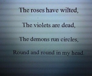 demon, grunge, and quotes image