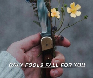 flowers, troye sivan, and fool image