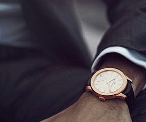 watch, man, and luxury image