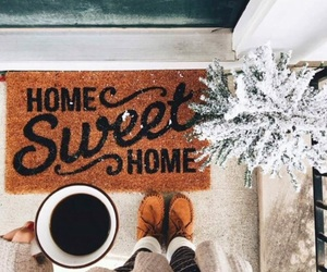 coffee, winter, and home image
