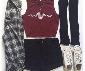 clothes and converse image