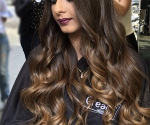 hair, ombre, and balayage image
