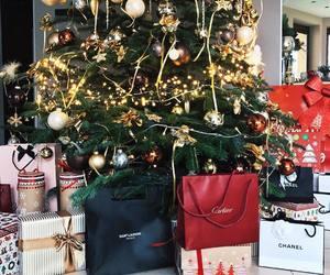 christmas, chanel, and gifts image