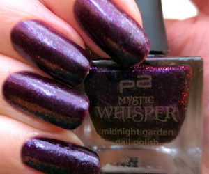black, limited edition, and nail polish image