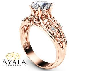etsy, ayala jewelry, and engagement ring image