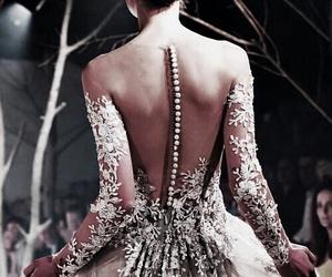 backless, elegant, and beading image