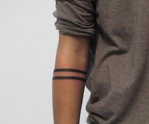 tattoo, boy, and arm image