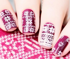 holiday and nails image
