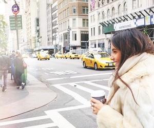 girl, new york city, and soft image