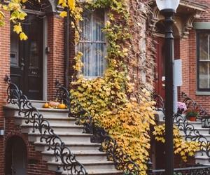 america, architecture, and autumn image