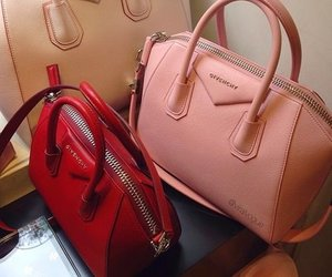 bags, red, and colour image