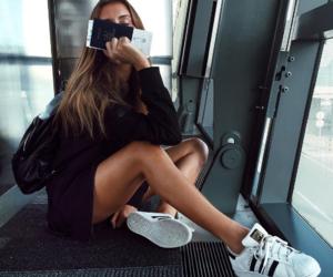 adidas, model, and summer image