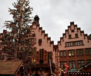 christmas, winter, and christmastree image