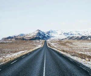 beautiful, iceland, and mountains image