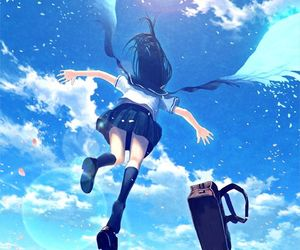 angel, illustration, and fantasy image