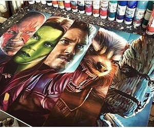 art, drawing, and Marvel image