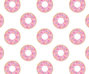 donuts, patterns, and wallpaper image