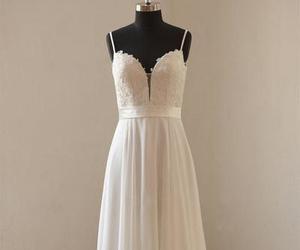 evening dress, fashion, and wedding dresss image