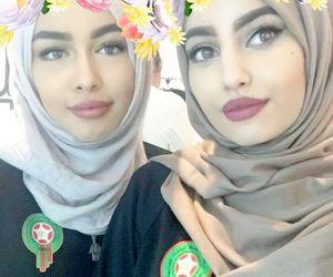 beauty, beauté marocaine, and hijab image