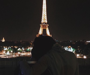 couple, france, and lové image