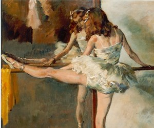 art, background, and ballet image