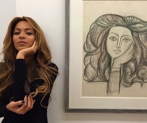 art, brunette, and fashion image